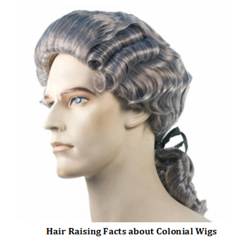 Hair Raising Facts About Colonial Wigs Halloween Express