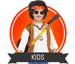 Kids 60's and 70's Costumes